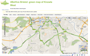 Knowle West on the Open Green Map